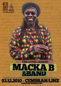 live: MACKA B + ROOTS RAGGA BAND (UK)@Cembran