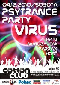 VIRUS-psytrance@Cotton Club