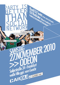 Party is better than Social Network@Odeon