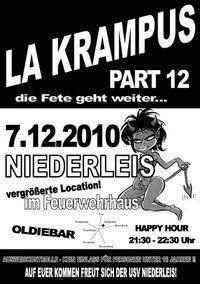 La Krampus Part 12@Feuerwehr Niederleis