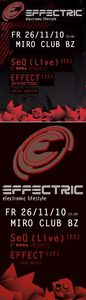 EFFECTRIC - electronic lifestyle@Miró Club