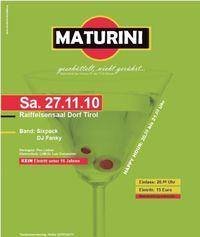 Maturini-Maturaball FOS Meran@Kultursaal
