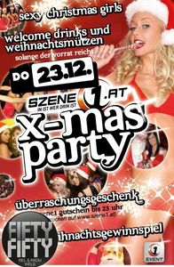 SZENE1 X-Mas Party@Fifty Fifty