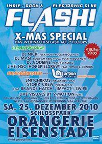 FLASH! X-MAS Special@Orangerie