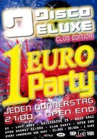 Disco Deluxe 1 Euro Party@Loft Graz