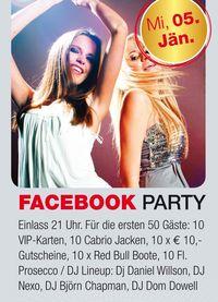Facebook Party@Cabrio