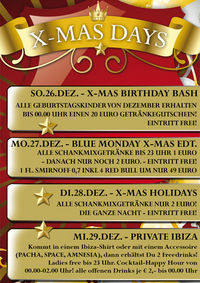 X-Mas Holidays@Empire