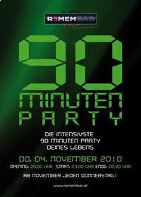 90 Minuten Party@REMEMBAR
