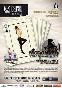 Delight Special Insulin Junky & Friends Special mit Tara MC Donald@REMEMBAR