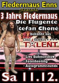3 Jahre Fledermaus - Supertalent - Stefan Chone