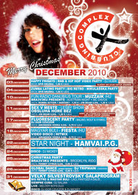 Veľký Silvestrovský Galaprogram@Clubbing Complex