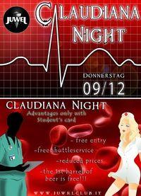 CLAUDIANA Night  @ Juwel club@Juwel Club
