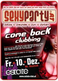 sexyparty.at comeback clubbing@Club Berlin