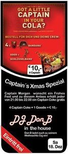 Captain´s Xmas Special mit DonB
