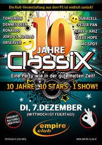 10 Jahre ClassiX