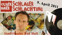 """Oliver Baier - """"Schlager Schlachtung""""@Stadttheater Bad Hall"""