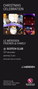 Le Méridien Christmas Celebration@Scotch Club