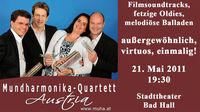 Mundharmonika Quartett Austria@Stadttheater Bad Hall