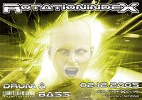 Rotationindex Drum and Bass@cultureXclub