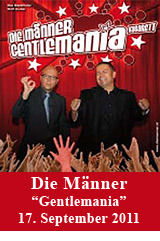 "Die Männer - ""Gentlemania""@Stadttheater Bad Hall"