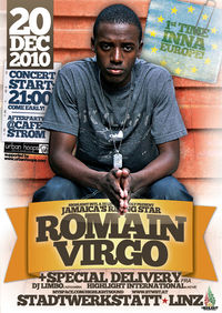 ROMAIN VIRGO (Jamaica) - live