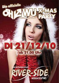 Die offizielle ÖH-WU X-Mas Party@River-Side