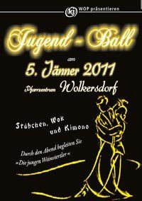 Jugendball - Stäbchen, Wok & Kimono@Pfarrzentrum Wolkersdorf