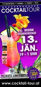 Cocktailtour durch Wien 6. Bezirk