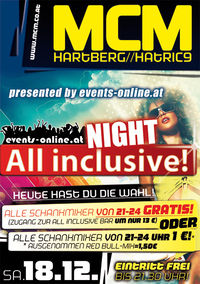 All Inclusive Night! presented by events-online.at