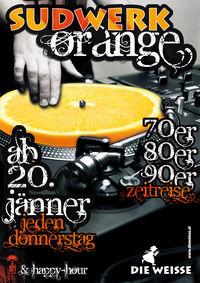 Sudwerk Orange – 70er-80er-90er Zeitreise@Sudwerk - Die Weisse