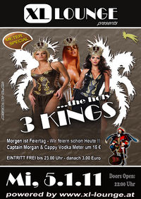 The holy 3 Kings@XL-Lounge