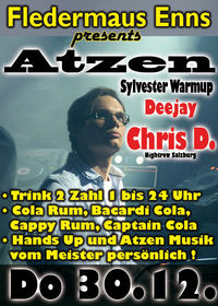 Atzen Sylvester Warmup mit DJ Chris D.