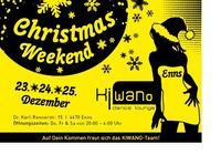 Christmas weekend@Kiwano Dance Lounge