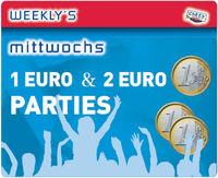 1 €uro & 2 €uro Party@Crazy