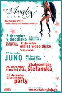 Silvestrovská Párty@Avalon Club