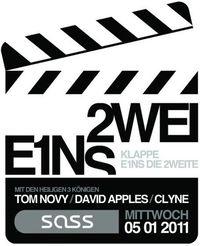 Klappe E1ns die 2weite mit Tom Novy@SASS