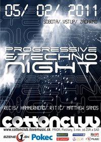 Progressive & Techno Night
