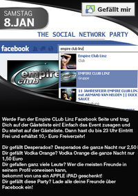 The Social Network Party@Empire