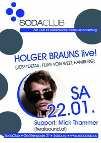Holger Brauns live & Mick Thammer@Soda Club