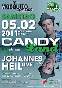 Candyland goes musikclub Mosquito