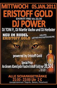 Eristoff Gold - DJ Power