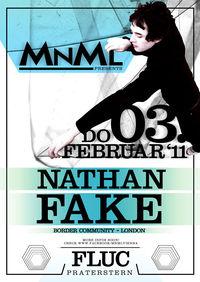 Nathan Fake @Fluc / Fluc Wanne