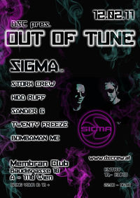 OUT OF TUNE feat. SIGMA@Membran Club
