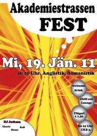 Akademiestrassen Fest@Universität