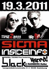 SIGMA & INSIDEINFO@b.lack