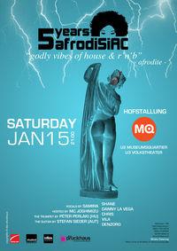 5 Years Afrodisiac@MQ Hofstallung