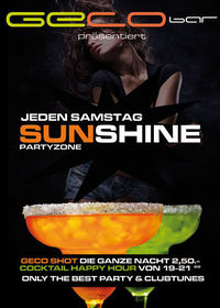 Sunshine Partyzone@Geco Bar