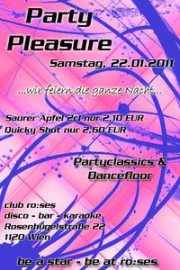Party Pleasure@ro:ses disco - bar - karaoke