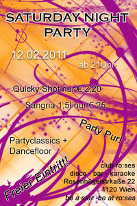 Vodka Party Night@ro:ses disco - bar - karaoke