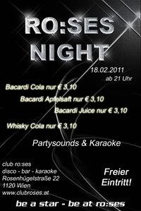 ro:ses night@ro:ses disco - bar - karaoke